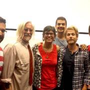 EDiTE crew with Peter McLaren